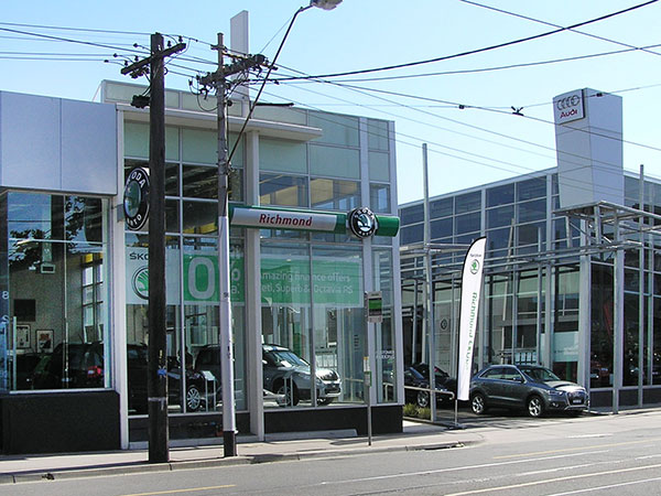 Audi Skoda Showrooms Richmond